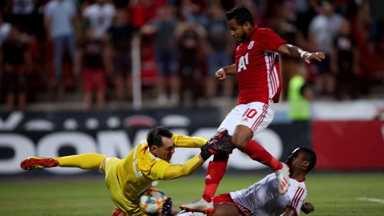 Кипърец ще свири на ЦСКА в Черна гора