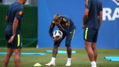 Бразилия с Неймар срещу Коста Рика