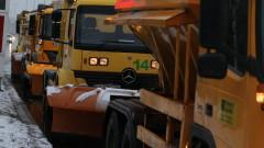 В София започва обработка на пътища срещу заледяване