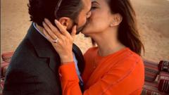 Ева Лонгория показа годежния си пръстен