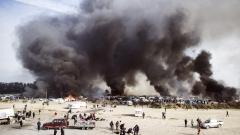 Български шофьор на ТИР пострада при пожар на магистрала във Франция