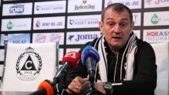 Златомир Загорчич обяви играчите, на които ще разчита да оставят Славия в Първа лига