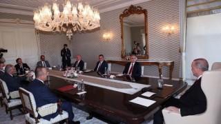Ердоган се срещна с ръководството на ДПС