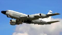 Разузнавателен самолет на САЩ забелязан до границите на Калининград