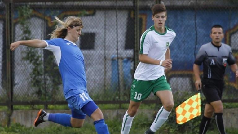 Талант на Левски привлече вниманието на Рома