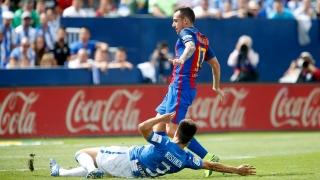 Алкасер пожела да напусне Барселона