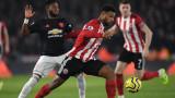 Манчестър Юнайтед не победи Шефилд Юнайтед като гост - 3:3