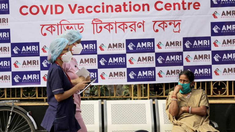 Най-малко 447 души в Индия имат неблагоприятни ефекти след получаване
