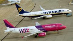 Ryanair и Wizz Air спират още полети от България