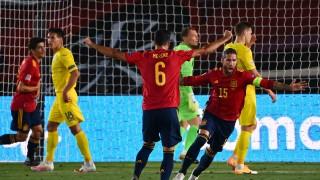 Испания разгроми Украйна, Фати постави рекорд