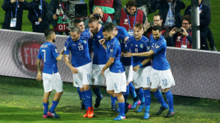Италия се справи с коравите албанци, грозни сцени белязаха световната квалификация