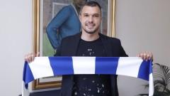 """Млада """"синя"""" надежда даде номера си в Левски на Божинов"""