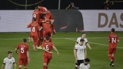 Германия загуби с 1:2 от Северна Македония в световна квалификация