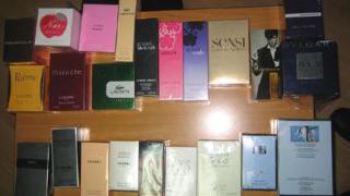 Крият маркови парфюми в калници на автобус