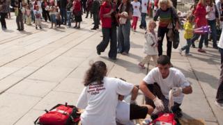 Световния ден на първата помощ отбелязаха в София