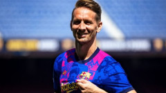 Барселона представи официално Люк де Йонг
