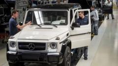Пазарът не дава Mercedes G-клас да излезе в пенсия