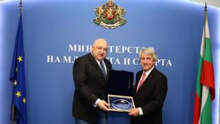 Шефът на UIPM се срещна с министър Красен Кралев и с кмета на София Йорданка Фандъкова