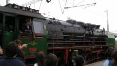 Разходка с парен локомотив подарява БДЖ на деца в неравностойно положение