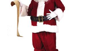 Слаб Дядо Коледа решава да се бори с детското затлъстяване