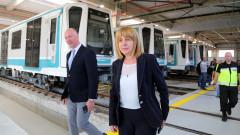 """Временно спират метрото между станция """"Сердика"""" и националния стадион"""