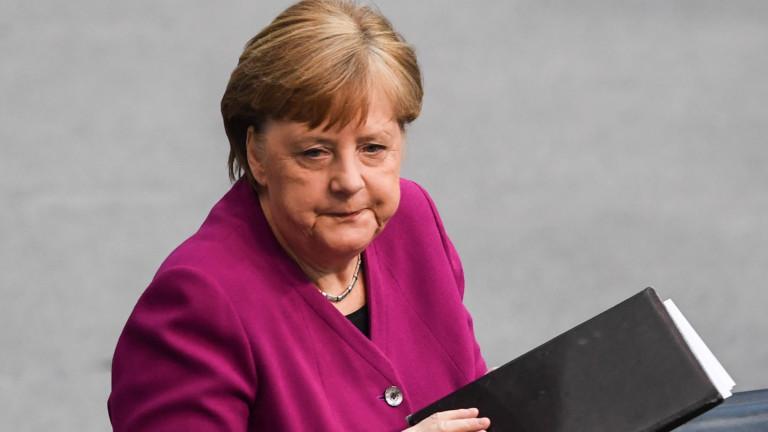 Меркел иска сътрудничество за разработването на ваксина