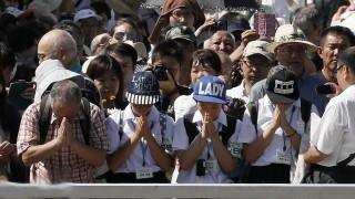 Япония отбеляза 72 години от атомната бомба в Хирошима