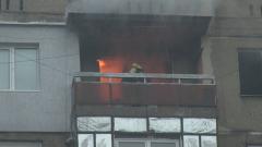 Евакуираха блок в Русе заради пожар