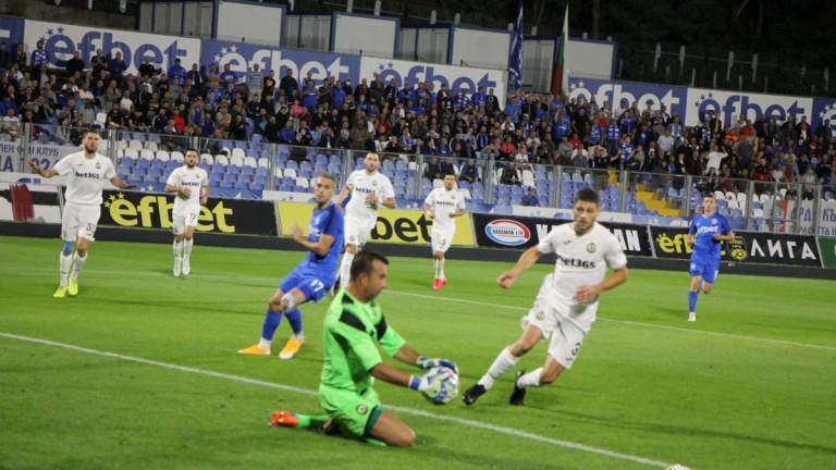 Вратарят на Славия Георги Петков говори след загубата с 1:2