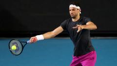 Григор Димитров излиза утре по обяд за втория си мач на Australian Open