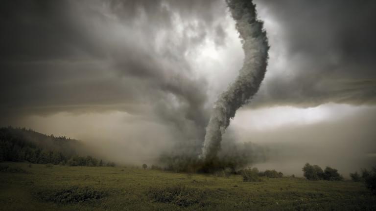 Невиждана буря в пловдивското село Рогош