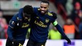 Стандард (Лиеж) и Арсенал си вкараха 4 гола, Айнтрахт бе на косъм от елиминация в Група F