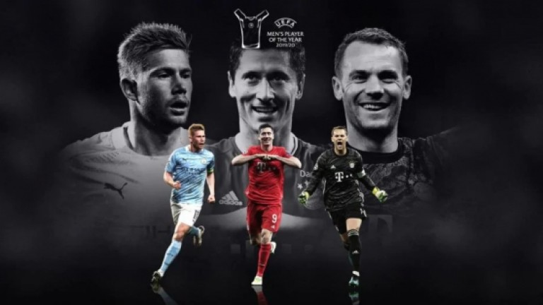 """Трима ще спорят за """"Футболист на сезона"""" на УЕФА"""
