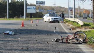 Кола блъсна и уби 36-годишен колоездач в Асеновград