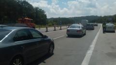 """Възстановено е движението на магистрала """"Тракия"""" при км 155-156"""