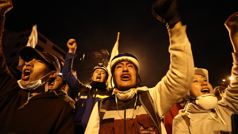 Правителството на Еквадор и представители на туземните общности сключиха споразумение