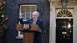 Стотици протестираха в Лондон срещу Джонсън