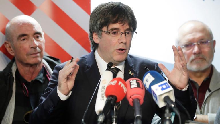 Испания издаде европейска заповед за арест на Карлес Пучдемон