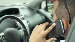 Хванаха 570 шофьори с телефон зад волана за седмица
