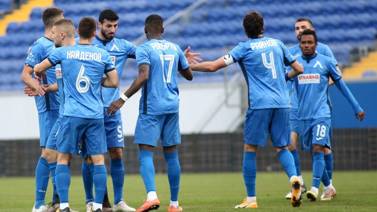 Левски подновява участието си в първенството на Първа лига и