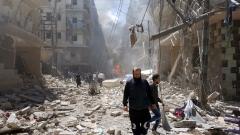 20 души загинаха при бомбардировки срещу сирийския Идлиб