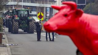 Европейски фермери протестират в Брюксел за по-справедливи евросубсидии
