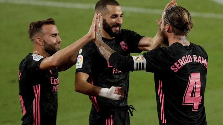 Реал (Мадрид) с първа победа за сезона след голов трилър с Бетис