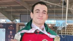 Трети български медал на европейското по щанги за младежи