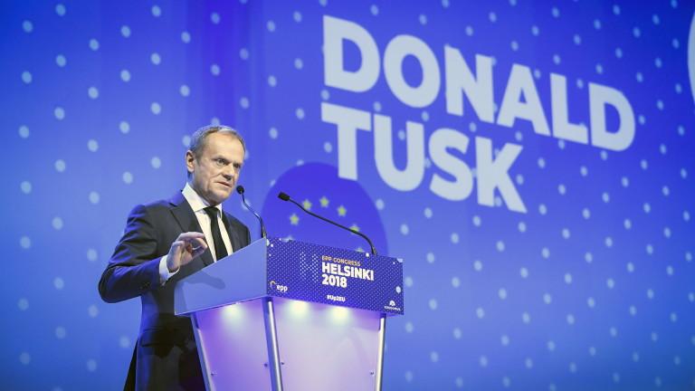 Европейските политици, подкрепящи Путин, не са християндемократи, убеден Туск