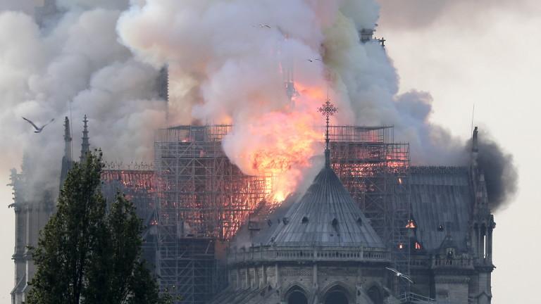 """Босът на Рен дари 100 млн. евро за реставрацията на катедралата """"Нотр Дам"""""""