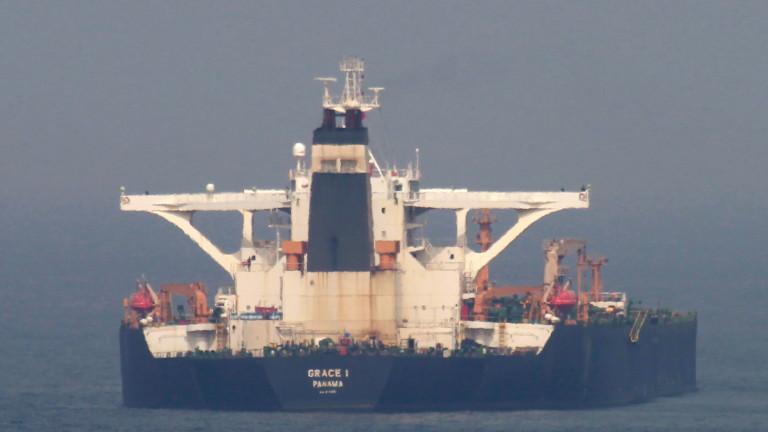 Иранският нефтен танкер промени местонахождението си
