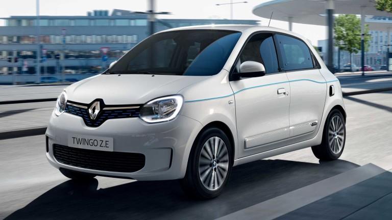 Какво може новото шикозно Renault Twingo Z.E.
