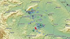 Поредица от пет земетресения в централна Хърватия
