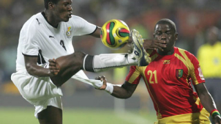 Гана се измъкна в края срещу Гвинея